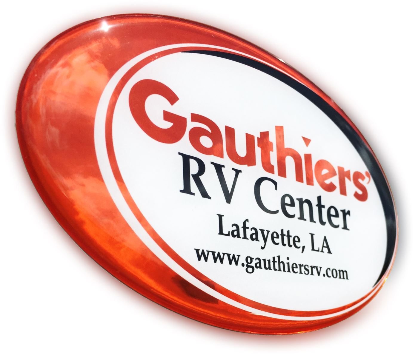 Gauthiers' RV Center Badge