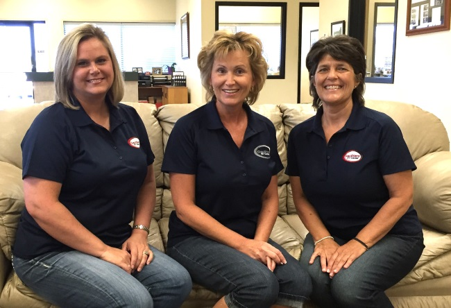 Gauthiers RV Center Front Office Staff
